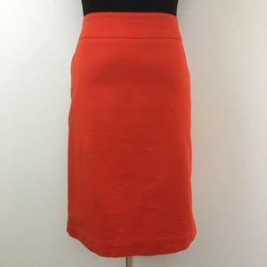 🆕 Merona | Red Stretch Pencil Skirt